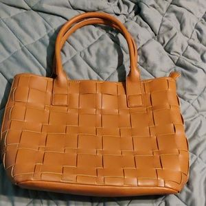 Brown Purse. Tote. Handbag